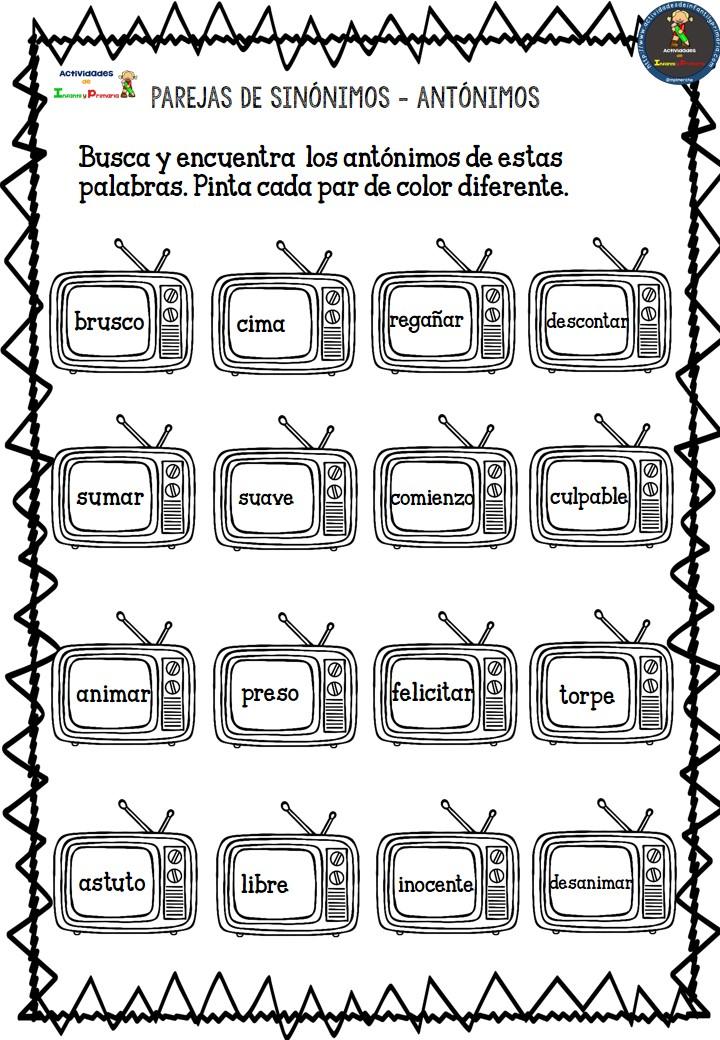 Artesanato O Que É ~ Sinónimos y Antónimos (5)