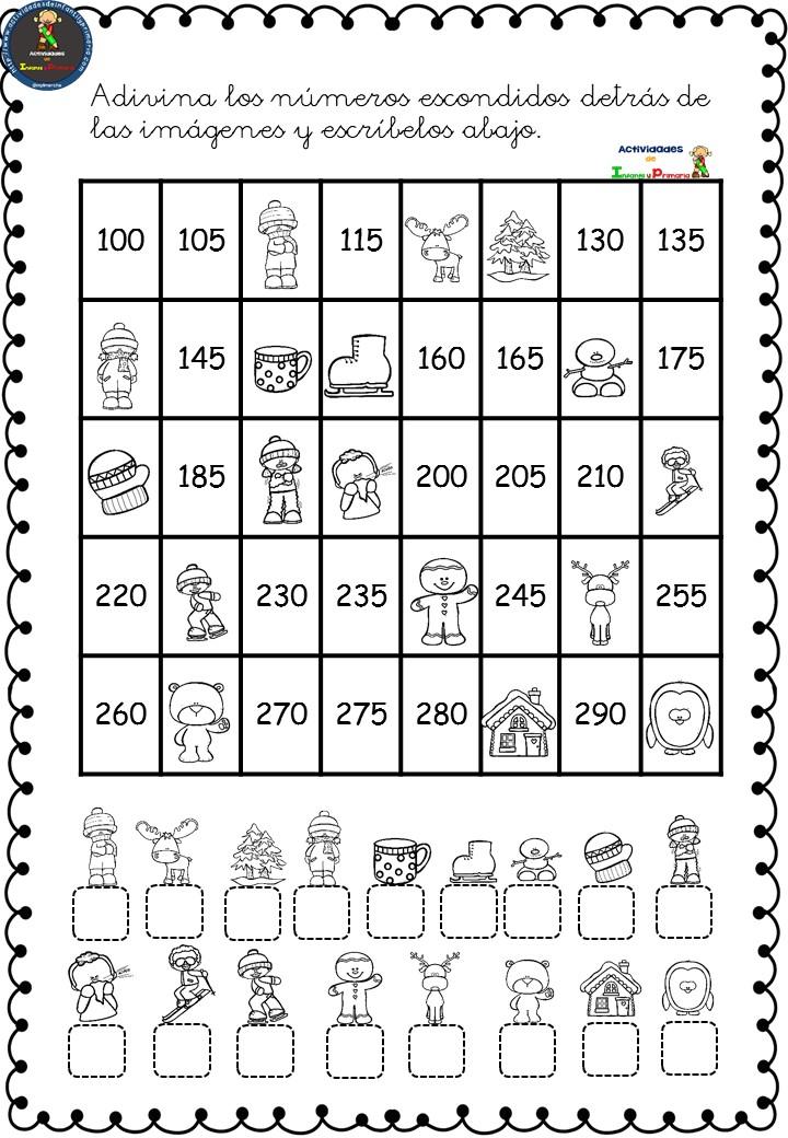 fichas de ejercicios lengua tercero primaria